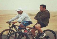 गर्मी में साईकिल
