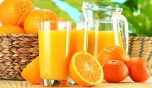 संतरे का जूस