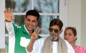 Akshay Kumar and Rajesh Khanna