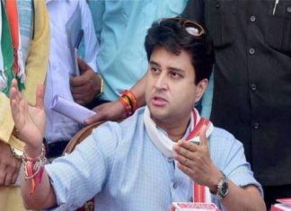 Congress - MP Jyotiraditya Scindia
