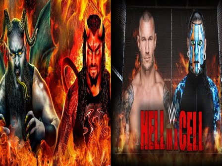 Hell In A Cell payperview 2018 - Hell In A Cell Match Card