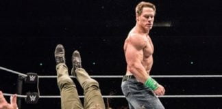 John Cena New Move - WWE Live Event