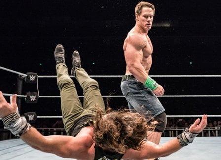 John Cena New Move - WWE Live Event