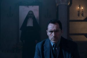 The Nun scenes