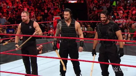 The Shield beats heel - The Shield Revenge