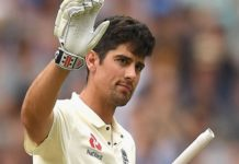 alastair cook - Oval Test Match