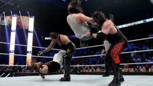 kane and undertaker beats wyatt family