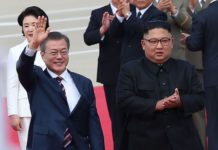 kim jong and moon jong - North Korea