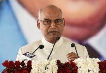 ram nath kovind - President