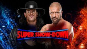 triple h vs undertaker