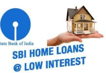 SBI home loan low rate interest