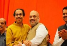 BJP 25 and Shiv Sena