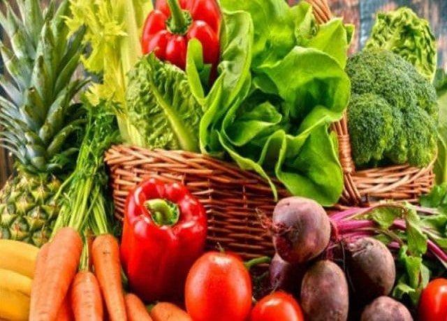 सब्जी और सलाद