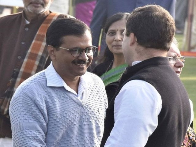kejriwal and rahul