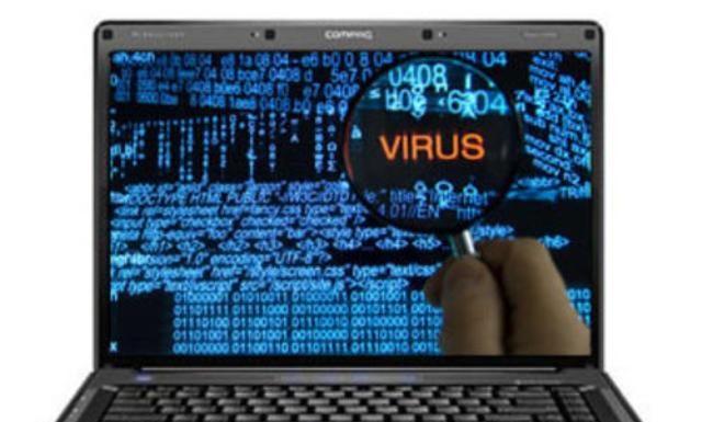 Laptop hacked