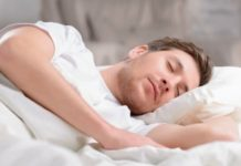Excellent sleep will come from peace of mind