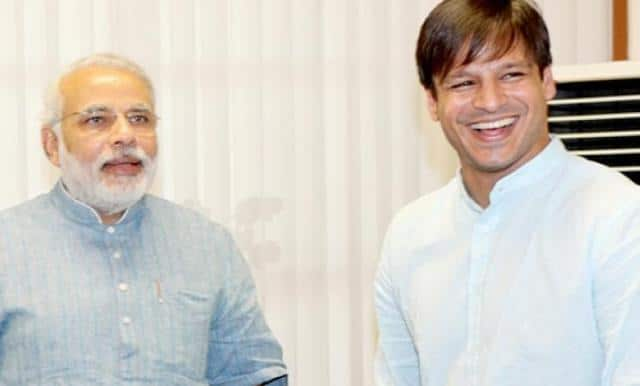 PM modi and vivek oberoi actor
