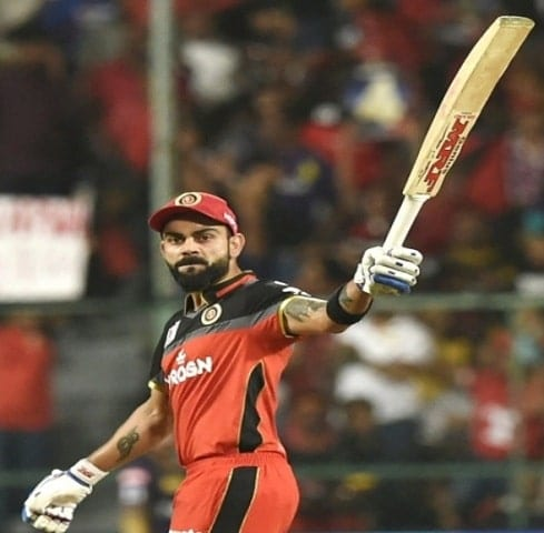 virat kholi become a second