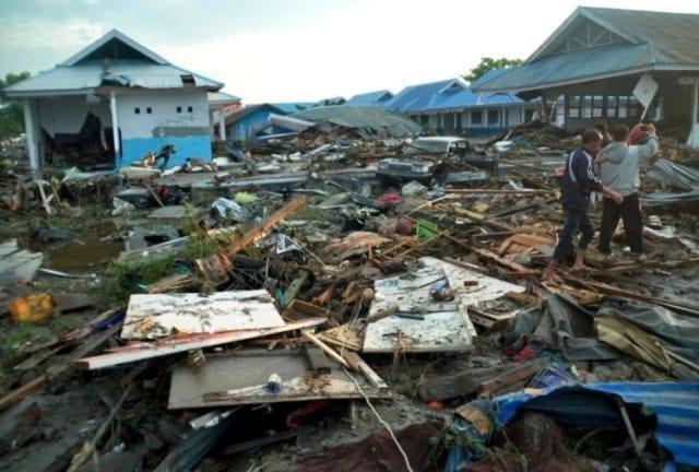 earthquake in Indonesia,