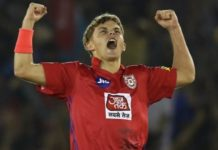 Curran hat-trick in IPL
