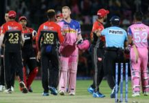 IPL-12 - Rajasthan win first match against Bangalore