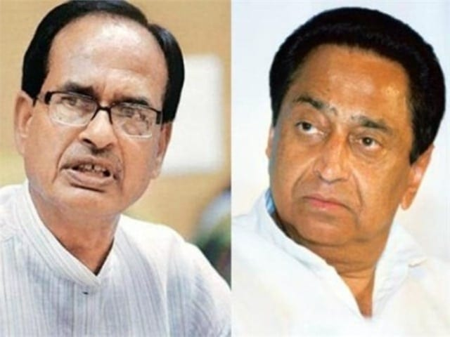 Kamal Nath and Shivraj Chauhan