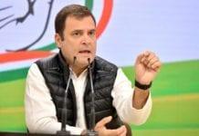 Rahul Gandhi.