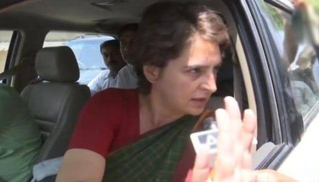 Congress general secretary Priyanka Gandhi Vadra alleged