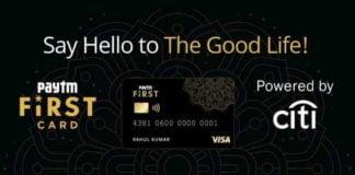 Paytm Launch Credit Card
