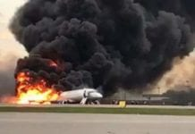 41 died in plane accident in Moscow