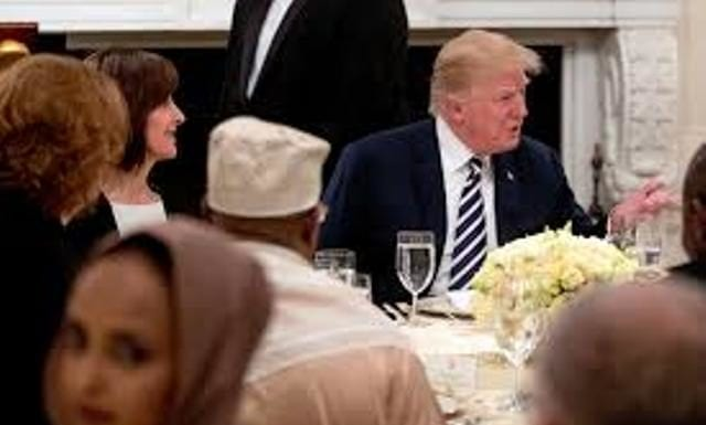 Trump organized a second Iftaar in The White House