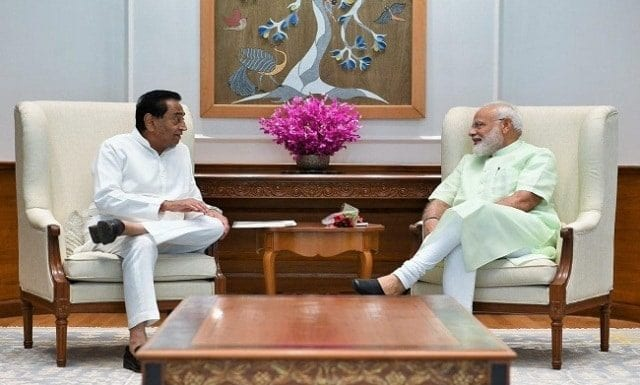 CM Kamal Nath Meet PM Modi