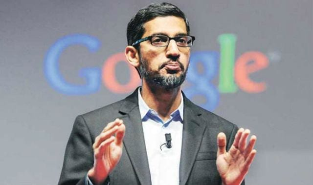Sundar Pichai said we will not start our services in chaina