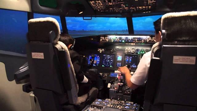 Student will take training in aeroplane