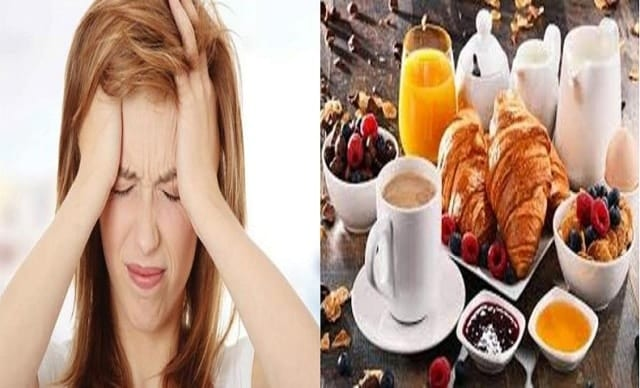 risk of migraine increases without breakfast- research