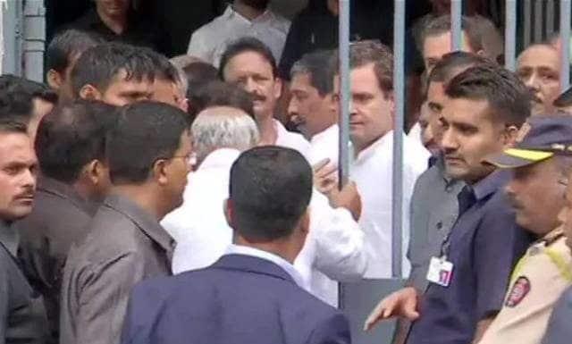 आरएसएस मानहानि केस: मुंबई कोर्ट में पेश हुए राहुल गांधी