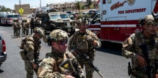 firing incident in the city of El Paso