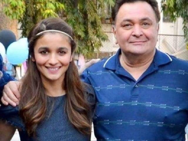 Alia Bhatt will give a party for Rishi Kapoor