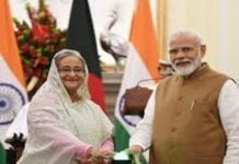 Modi invited Sheikh Hasina
