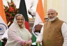 Modi invited Sheikh Hasina