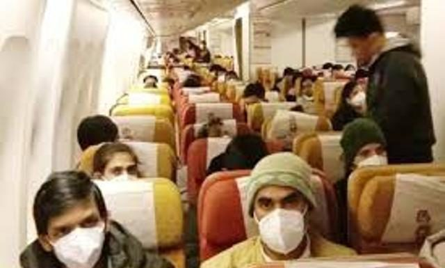 324 indians students are back from Wuhan reached dehli Air
