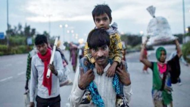 Home Ministry has changed rules - SDRF will be used for food and stay of migrant laborers