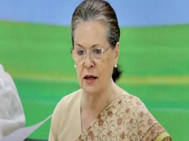 Sonia Gandhi writes to DM for financial help in Rae Bareli