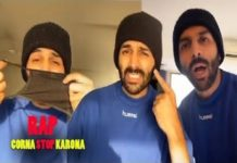 Actor Karthik Aryan shares rap video on corona stop karona