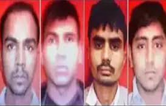 Nirbhaya's four convicts