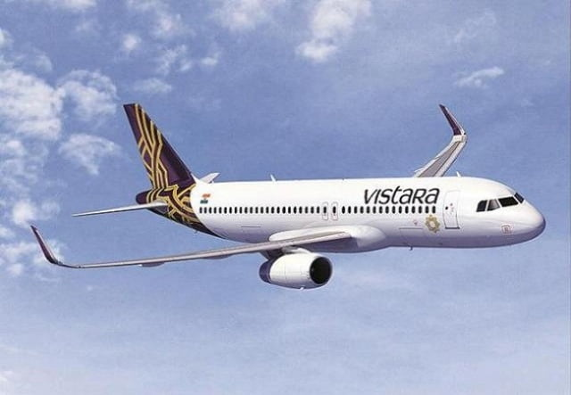Report the passengers who flew from Vistara on 22 March