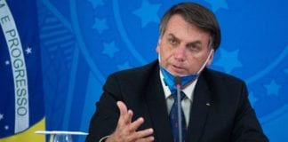 Naked bath in video conference of President of Brazil