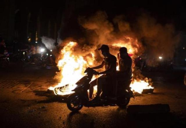 Lebanon news Eleven protesters have been injured in anti-government protests in Lebanon.