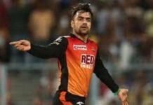 IPL 2020 राशिद को मैन ऑफ द मैच पुरस्कार मिला ,माता-पिता को समर्पित