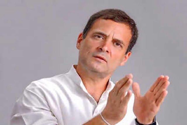 राहुल गांधी ने कहा- लॉकडाउन से गरीबों